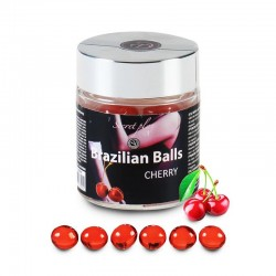 Secret Play Tarro 6 Brazilian Balls Aroma a Cereza
