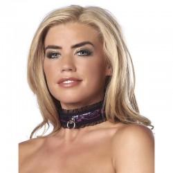 Collar de Saten Purpura
