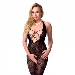 Rimba Amorable Catsuit Color Negro Talla unica