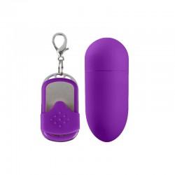 Shots Simplicity Huevo Vibrador con Control Remoto MACEY Purpura