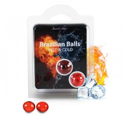 Secret Play Set 2 Brazilian Balls Efecto Hot Cold