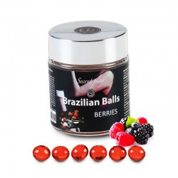 Secret Play Tarro 6 Brazilian Balls Aroma a Frutas del Bosque
