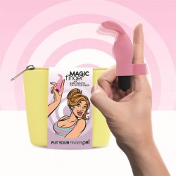 Magic Finger Vibrador para el Dedo Rosa